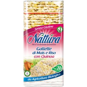 Gallette Bio di Mais e Riso con Quinoa x12